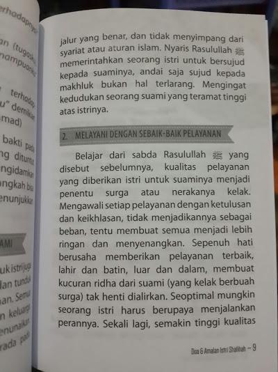 Buku Saku Doa Dan Amalan Istri Sholihah Isi 2