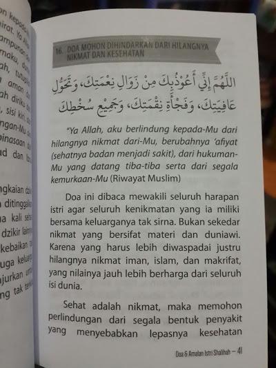 Buku Saku Doa Dan Amalan Istri Sholihah Isi