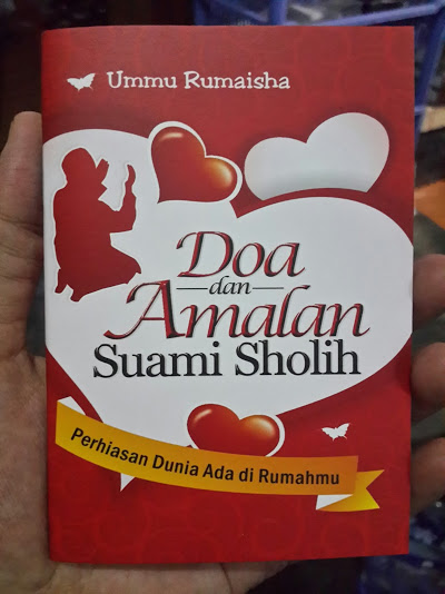 Buku Saku Doa Dan Amalan Suami Sholih Cover