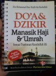 Buku Doa Dan Dzikir Manasik Haji dan Umrah Cover