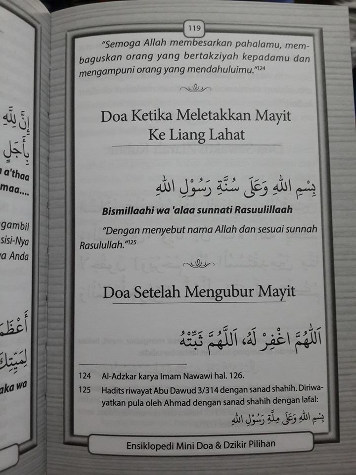 doa dan dzikir pilihan translate arab latin buku isi