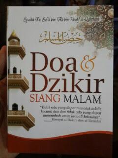 Buku Saku Doa Dan Dzikir Siang Malam Cover