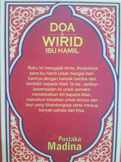 Buku Saku Doa Dan Wirid Ibu Hamil Cover 2
