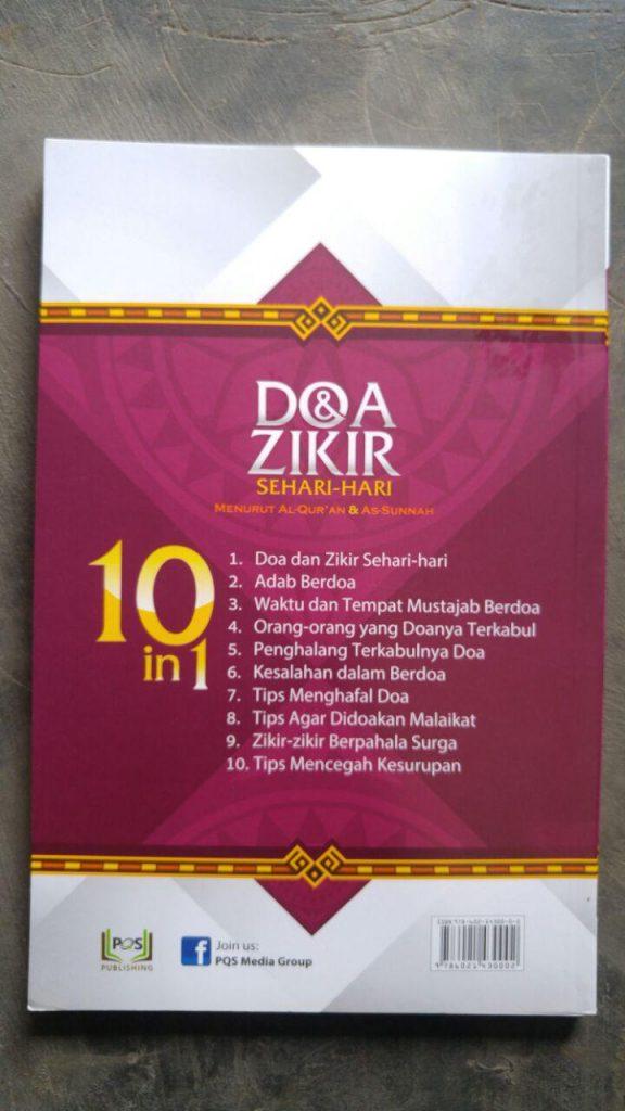 Buku Doa & Dzikir Sehari Hari Plus Tips-Tips Terkait Doa cover 2