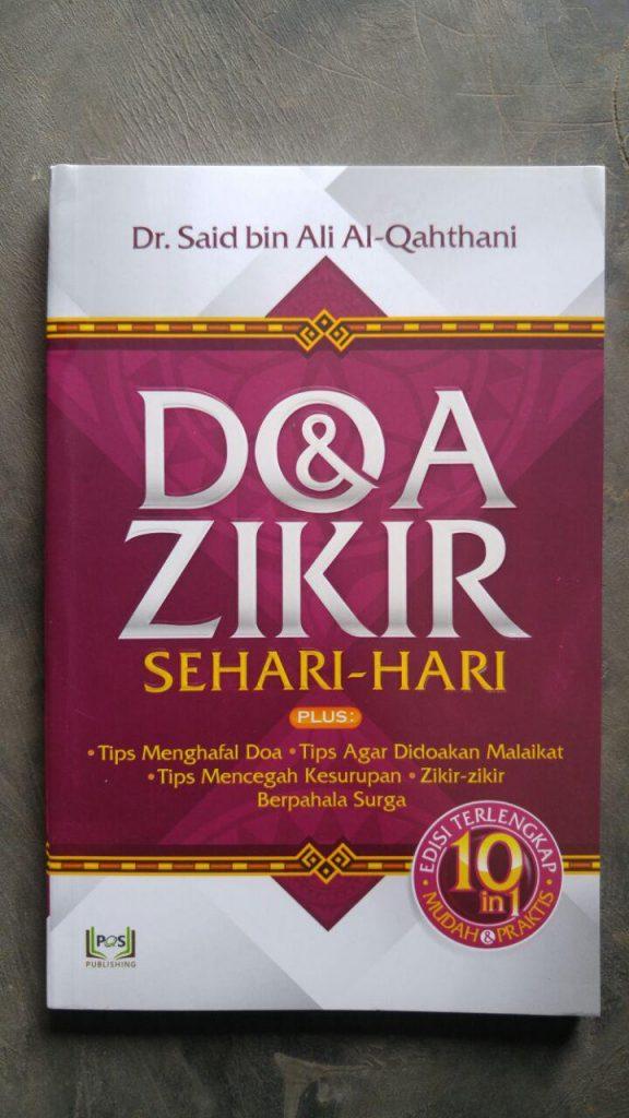 Buku Doa & Dzikir Sehari Hari Plus Tips-Tips Terkait Doa cover