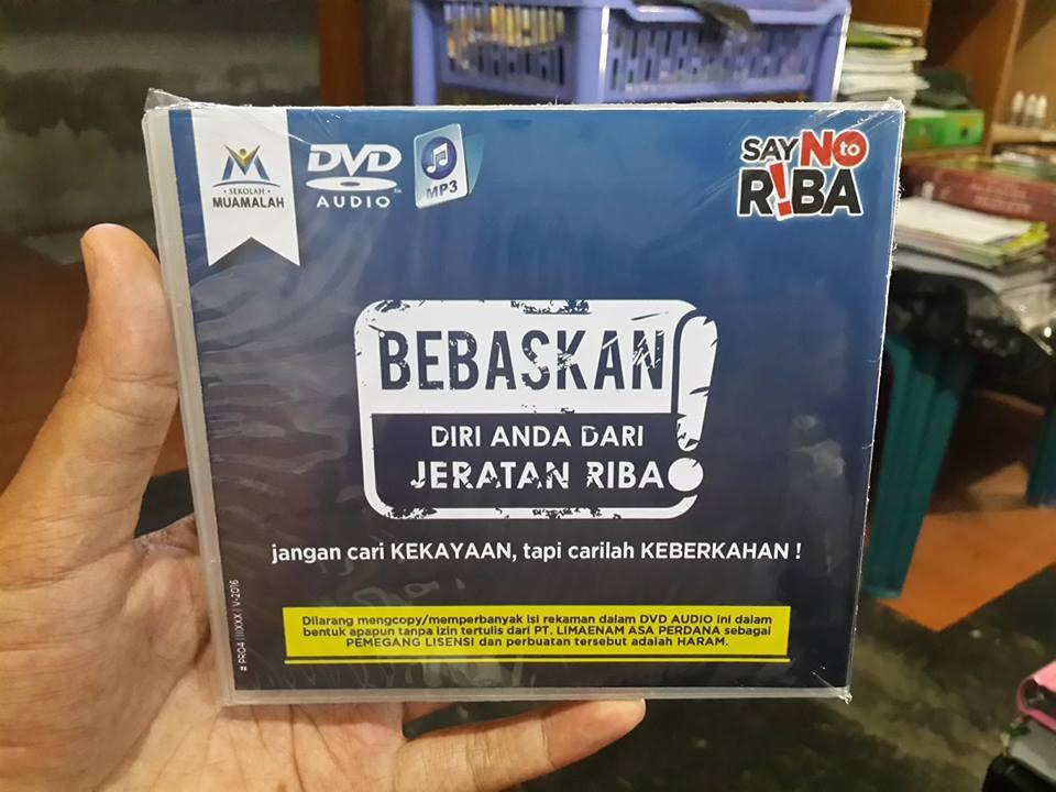 DVD MP3 Kompilasi Kajian Muamalah DR. Erwandi Tarmizi, MA Cover 2