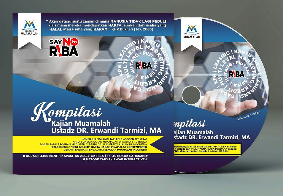 DVD MP3 Kompilasi Kajian Muamalah DR. Erwandi Tarmizi, MA Set