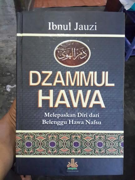 Buku Dzammul Hawa Melepaskan Diri Dari Belenggu Hawa Nafsu Cover