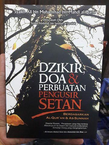 dzikir doa dan perbuatan pengusir setan buku cover