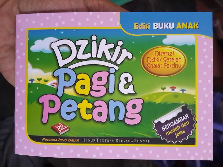 Buku Anak Dzikir Pagi Dan Petang Cover
