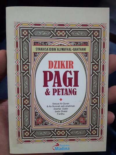 Buku Saku Dzikir Pagi Petang Dan Bada Shalat Fardhu Cover