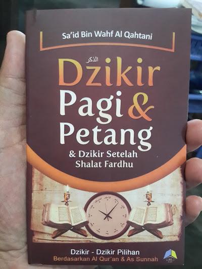 Buku Saku Dzikir Pagi Petang Dzikir Setelah Shalat Fardhu Cover