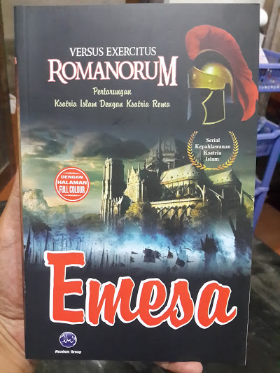 Buku Emesa Pertarungan Ksatria Islam Dengan Ksatria Roma Cover