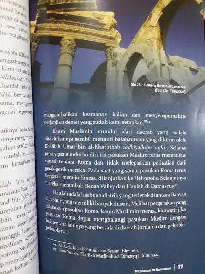 Buku Emesa Pertarungan Ksatria Islam Dengan Ksatria Roma Isi