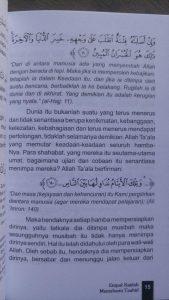 Buku Empat Kaedah Memahami Tauhid Syarah Qowa'idul Arba' isi 2