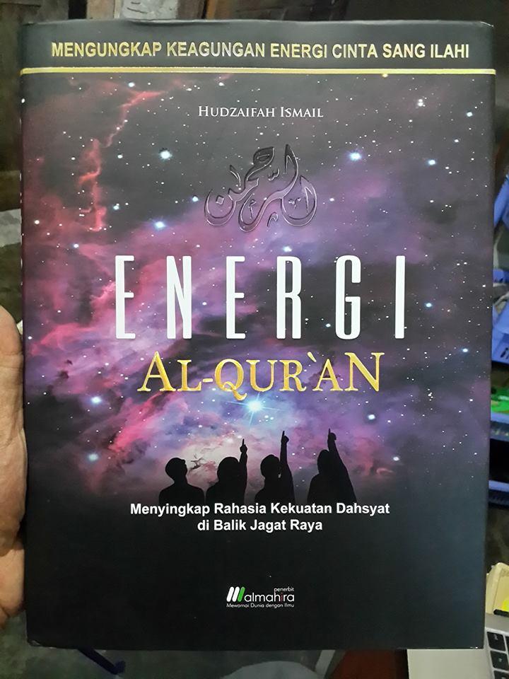 Buku Energi Al-Qur'an Mengungkap Keagungan Energi Cinta Cover