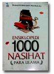 Buku Ensiklopedi 1000 Nasihat Para Ulama