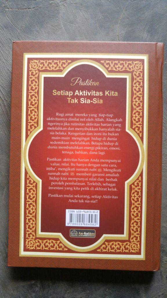 Buku Ensiklopedi 24 Jam Amalan Nabi cover 2