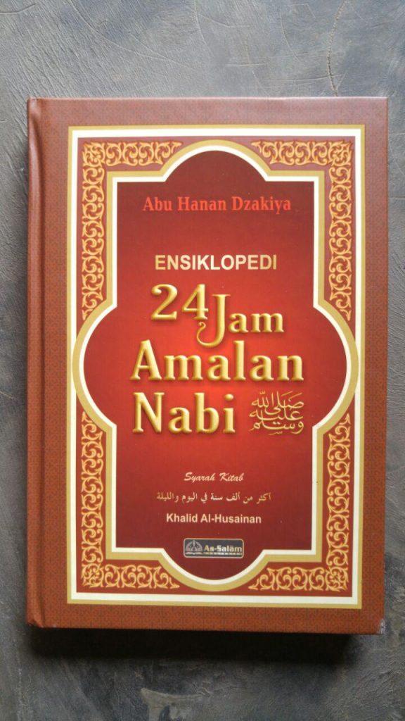 Buku Ensiklopedi 24 Jam Amalan Nabi cover