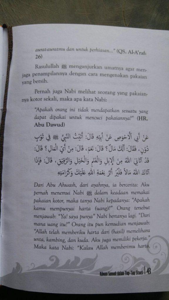 Buku Ensiklopedi 24 Jam Amalan Nabi isi 2