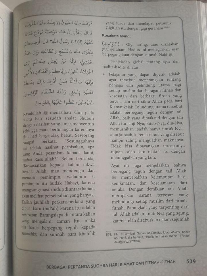 Buku Ensiklopedi Akhir Zaman Isi