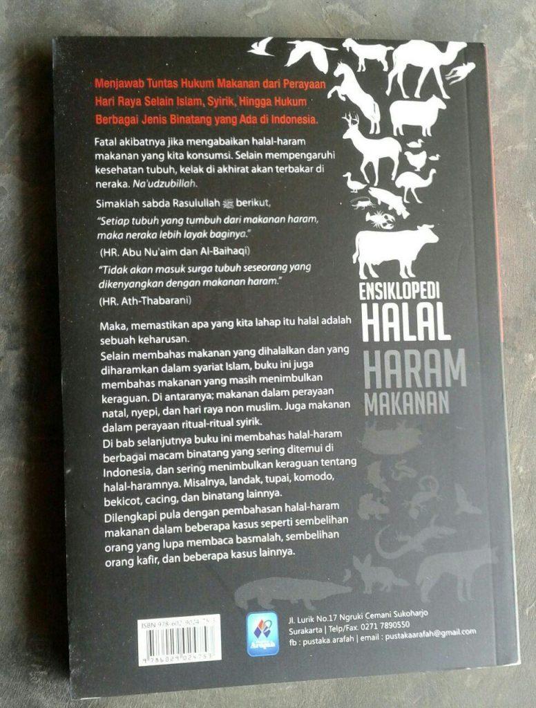 Buku Ensiklopedi Halal Haram Makanan cover 2