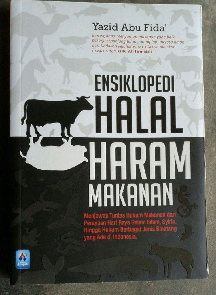 Buku Ensiklopedi Halal Haram Makanan cover