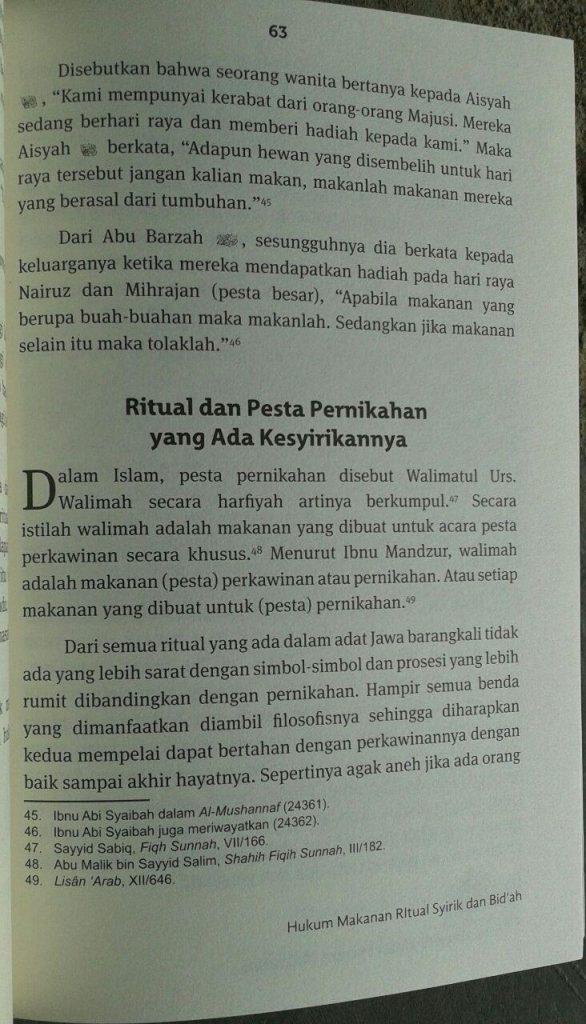 Buku Ensiklopedi Halal Haram Makanan isi 2
