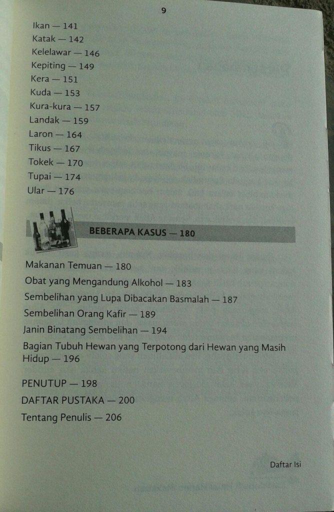 Buku EnsiklopBuku Ensiklopedi Halal Haram Makanan isi 3edi Halal Haram Makanan cover