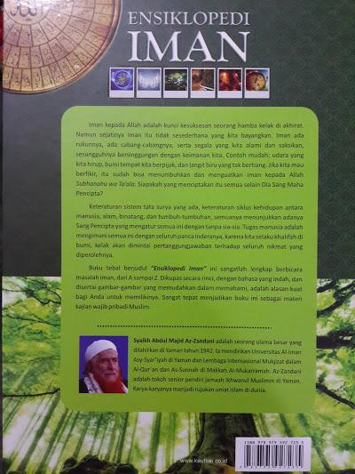 Buku Ensiklopedi Iman Cover 2