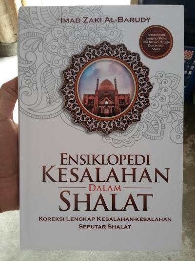 Buku Ensiklopedi Kesalahan Dalam Shalat Cover