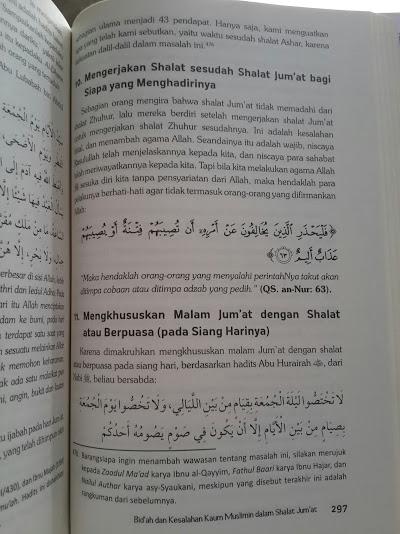 Buku Ensiklopedi Kesalahan Dalam Shalat Isi