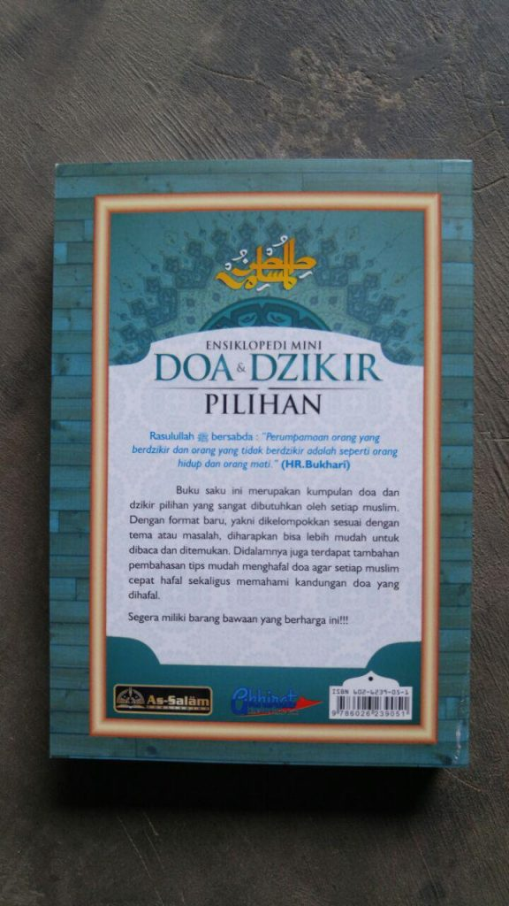 Buku Saku Ensiklopedi Mini Doa & Dzikir Pilihan cover 2