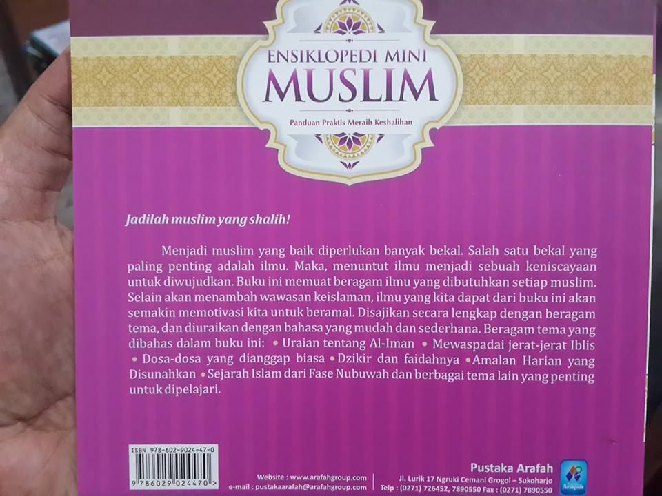 ensiklopedi mini muslim buku cover 2