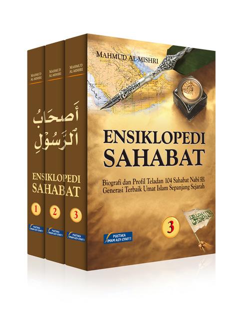 Buku Ensiklopedi Sahabat Biografi Dan Profil Para Sahabat Cover Set