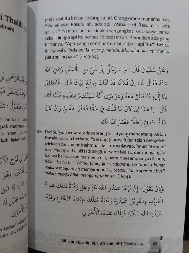 Buku Ensiklopedia Hikmah Kisah Salaf Isi
