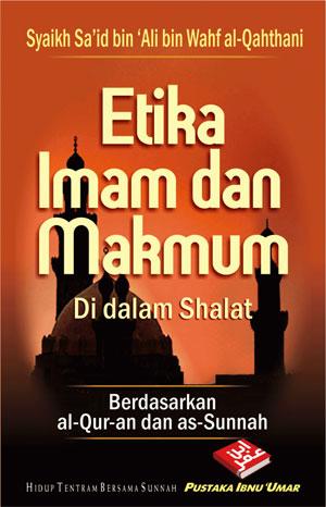 Buku Saku Etika Imam Dan Makmum Di Dalam Shalat Cover