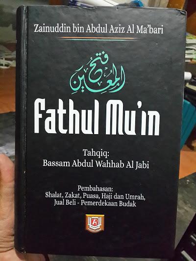Buku Fathul Mu'in Fikih Lengkap Madzhab Syafii Cover
