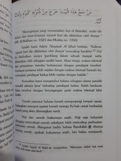 Buku Fathul Mu'in Fikih Lengkap Madzhab Syafii Isi