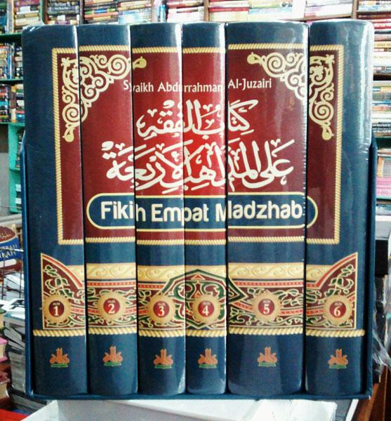 Buku Fikih Empat Madzhab Cover Set 1