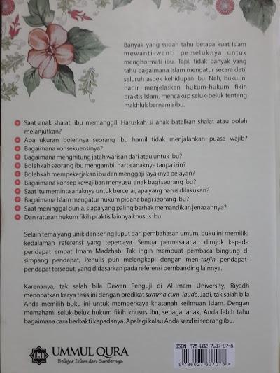 Buku Fikih Ibu Himpunan Hukum Islam Khas Ummahat Cover 2