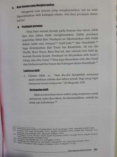 Buku Fikih Ibu Himpunan Hukum Islam Khas Ummahat Isi