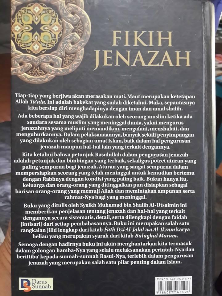 Buku Fikih Jenazah Oleh Syaikh Utsaimin Cover 2