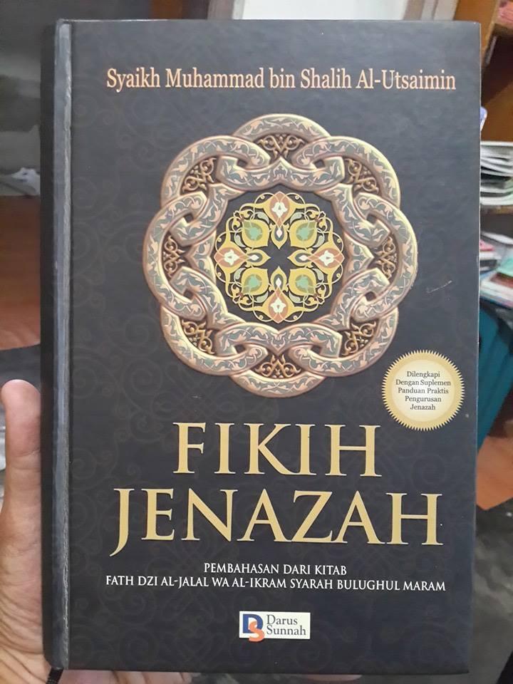 Buku Fikih Jenazah Oleh Syaikh Utsaimin Cover