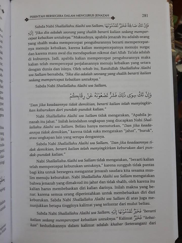 Buku Fikih Jenazah Oleh Syaikh Utsaimin Isi
