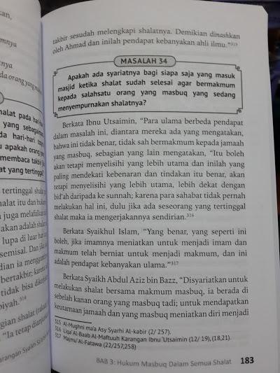 Buku Fikih Masbuq 123 Masalah Seputar Hukum Masbuq Shalat Isi