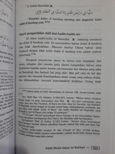 Buku Fikih Shalat Imam Al-Bukhari Isi
