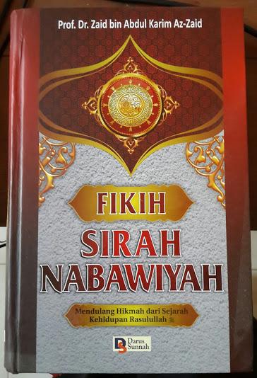Buku Fikih Sirah Nabawiyah Mendulang Hikmah Dari Sejarah Rasulullah Cover