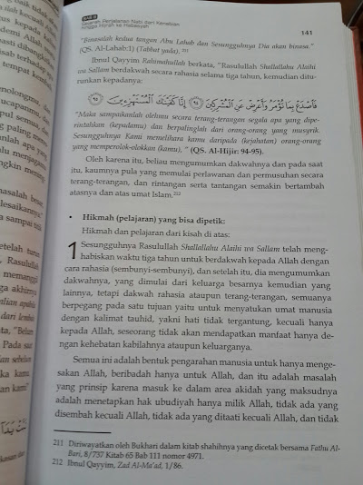 Buku Fikih Sirah Nabawiyah Mendulang Hikmah Dari Sejarah Rasulullah Isi