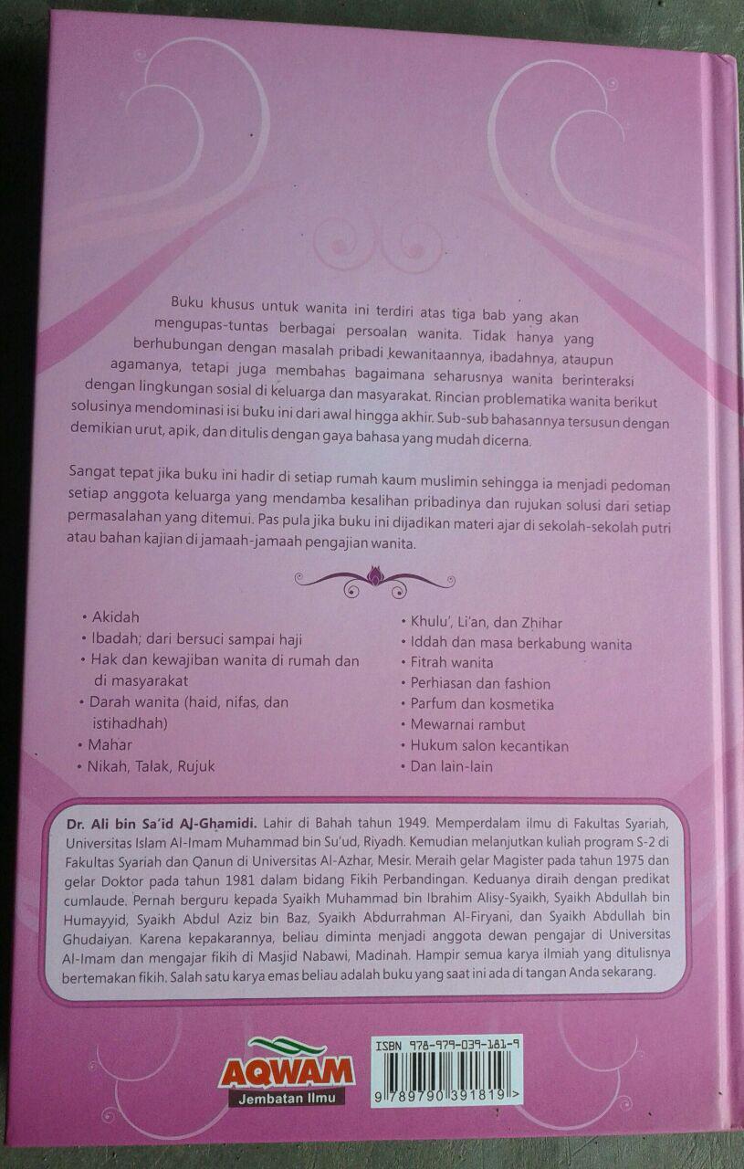 Buku Fikih Wanita Panduan Ibadah Wanita lengkap & Praktis cover